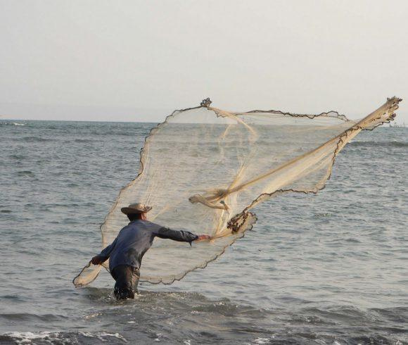 Fisherman in Perancak