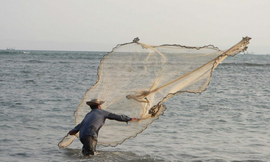 Fisherman in Perancak