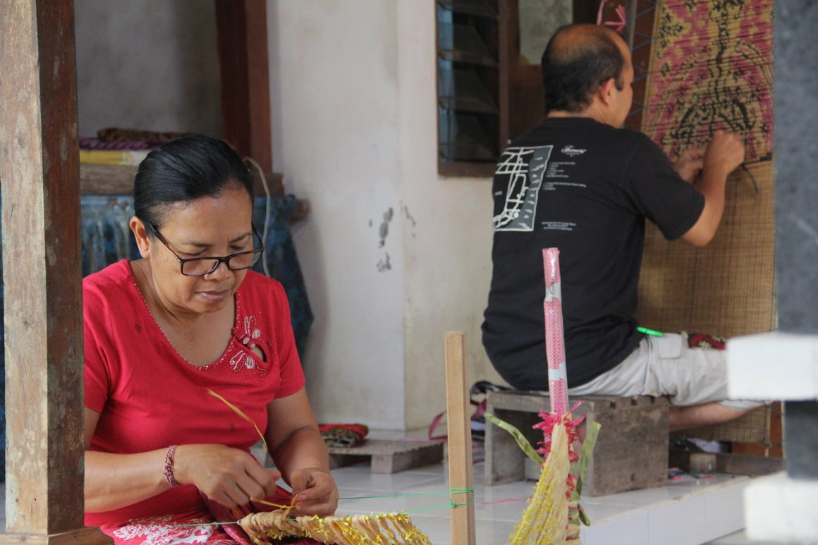 Binding Life Fibers: Research and Documentation of Ikat Weaving as an Effort to Restore the Pattern of Old Balinese Clothing
