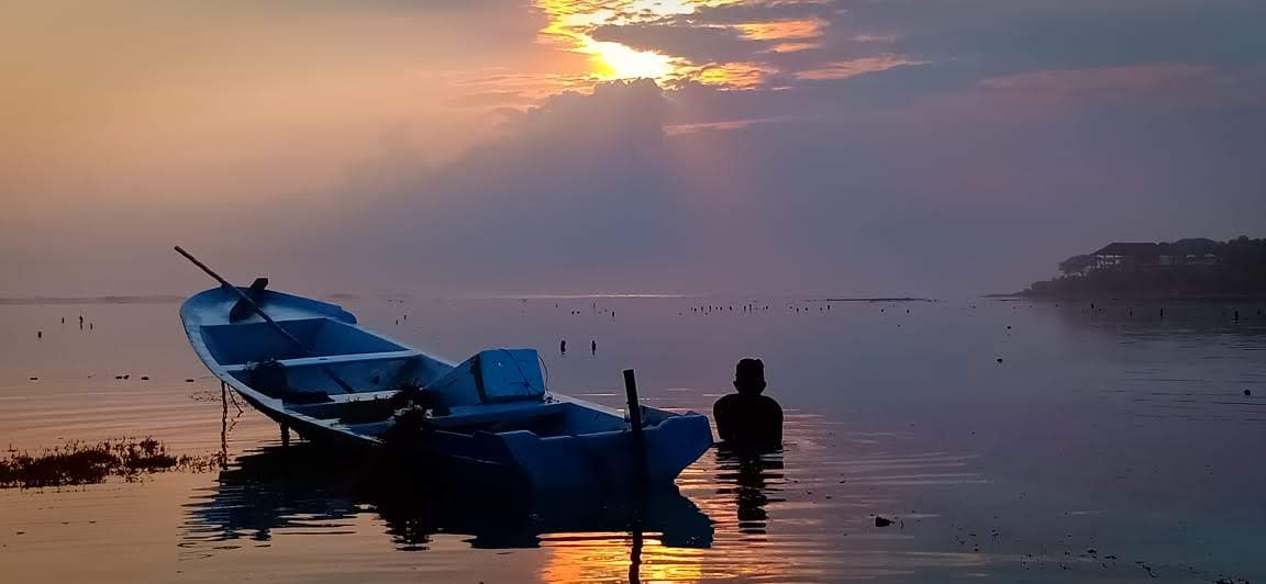 Geliat Petani Rumput Laut Nusa Lembongan